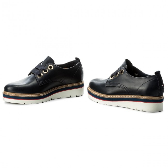 Oxfords TOMMY HILFIGER       HILFIGER                                               Manon 4A FW0FW02622 Tommy Navy 406 394516