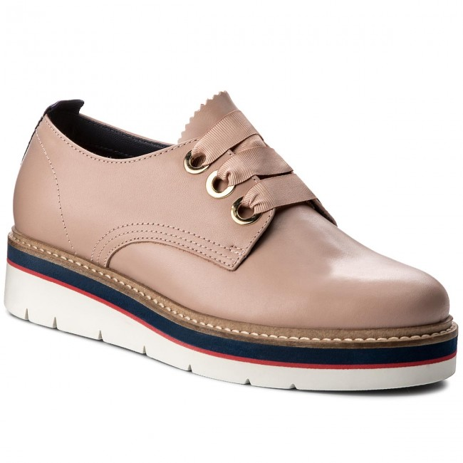 Oxfords TOMMY HILFIGER Manon 4A FW0FW02622 Dusty Rose 502