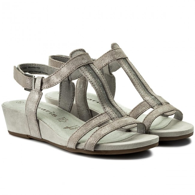 Sandalen TAMARIS                                                      1-28209-20 Cloud Metalilic 243 0e1321