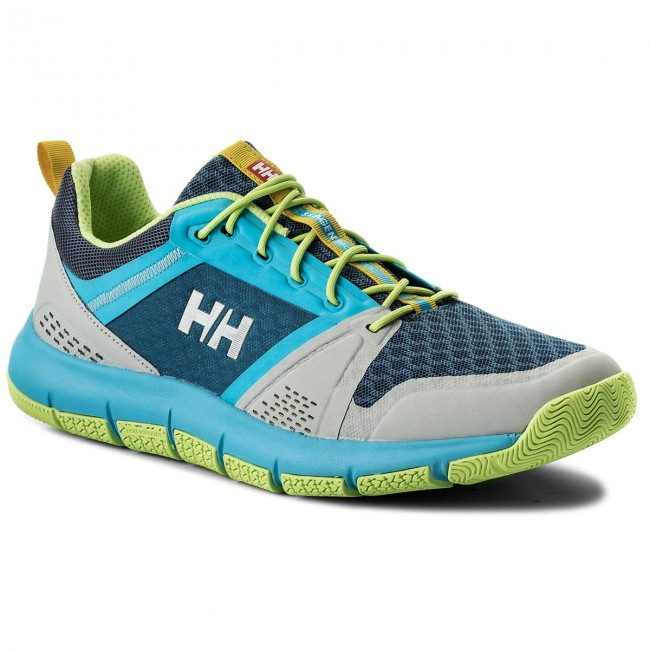 Schuhe HELLY HANSEN                                                    Skagen F-1 Offshore 113-13 930 Light Grey/Aqua Blue Sharp Green/Vintage Indigo
