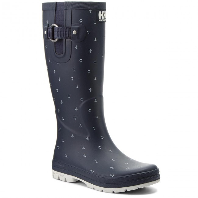 Gummistiefel HELLY HANSEN                                                    Veierland 2 Graphic 112-85.690 Evening Blue/Off White/Ash Grey (Matte)