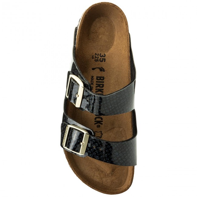 Pantoletten BIRKENSTOCK                                                      Arizona Bs 1009125 Magic Snake schwarz d82dad