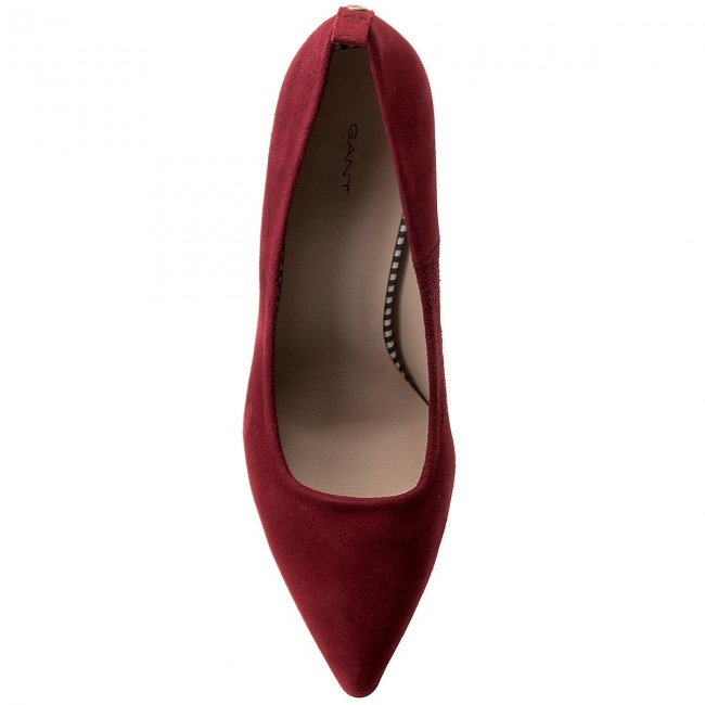 High Heels GANT Betty 16523386 Syrah Syrah 16523386 Red G514 535a37