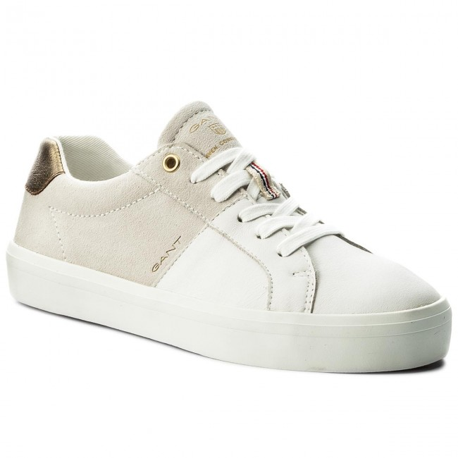 Sneakers Wht./Cream GANT Mary 16531445 Bright Wht./Cream Sneakers G295 e51887