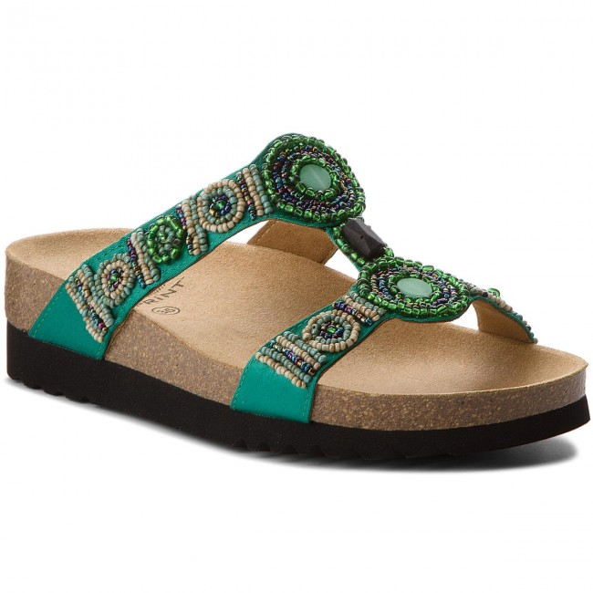 Pantoletten SCHOLL                                                    New Bogota Wedge F26607 1361 350 Emerald