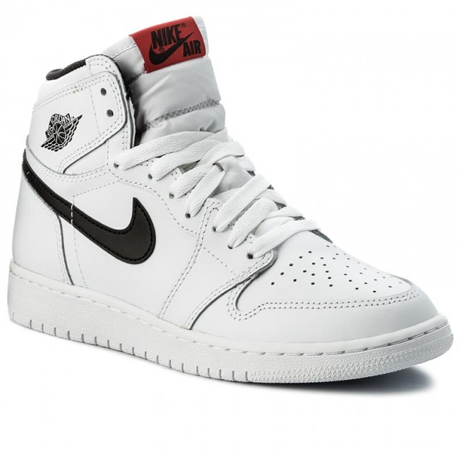 Schuhe NIKE - Air Jordan 1 Retro High OG BG 575441 102 White/Black White
