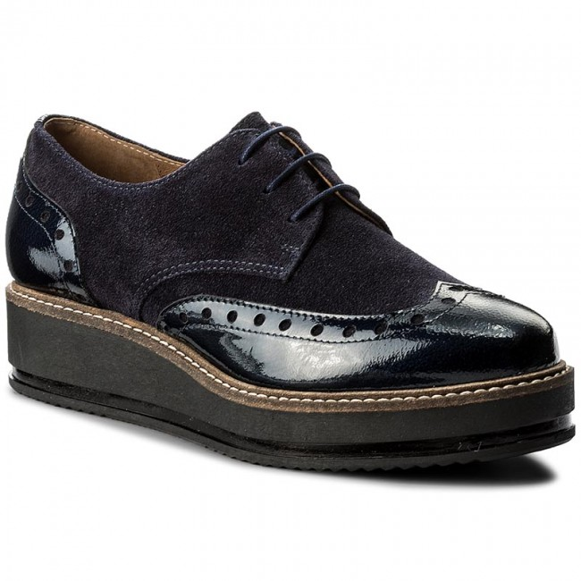 Oxfords WOJAS                                                    7500-76 Dunkelblau