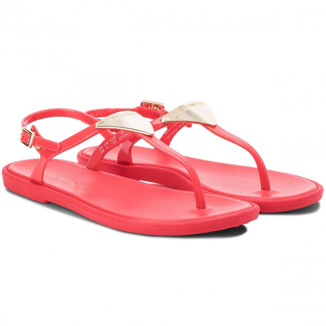 Zehentrenner EMPORIO ARMANI                                                      X3Q056 XD133 00055 Coral ROT 2cacbe