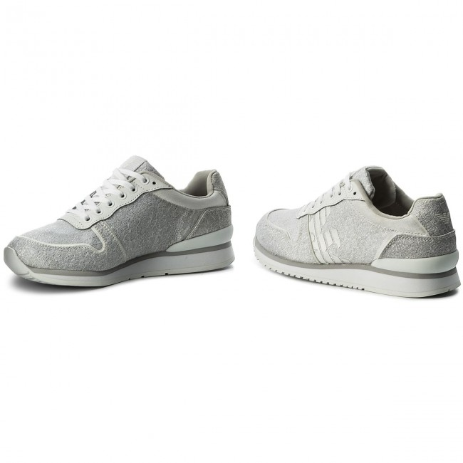 Sneakers EMPORIO ARMANI                                                      X3X049 XL201 A032 O.Wh/Sil/O.Wh/O.Wh/S 767113