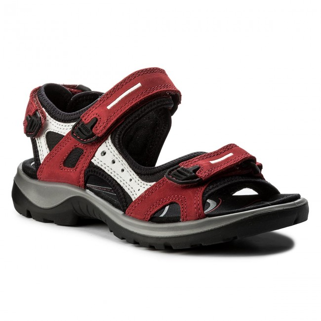 Sandalen ECCO                                                    Offroad 06956355287 Chili Red/Concrete/Black