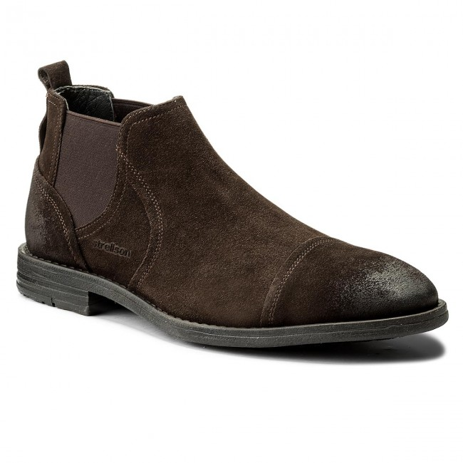 Stiefeletten STRELLSON-Benchill 4010002250 Dark 702 Brown 702 Dark 53e01c
