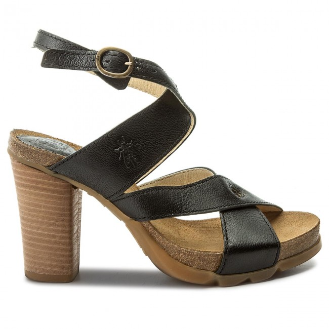 Sandalen FLY LONDON - Boxyfly P144245000 Black 2uvd44