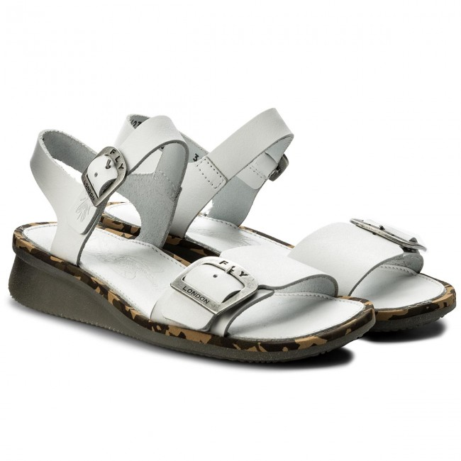 Sandalen FLY LONDON                                                    Combfly P144230006 Offwhite