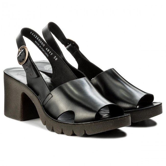 Sandalen FLY LONDON                                                      Leesfly P144260000 Black 3d86a4