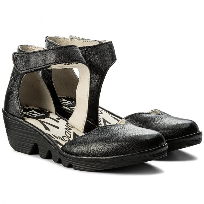 Sandalen FLY LONDON-Patsfly P500801006 P500801006 LONDON-Patsfly Mousse Black Werbe Schuhe ff6a8d