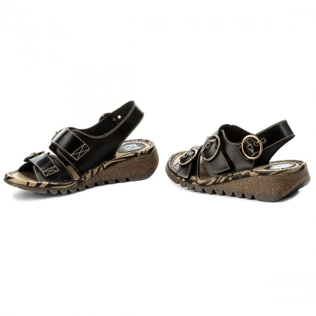 Sandalen FLY LONDON                                                      Tearfly P500806000 schwarz 2e737a