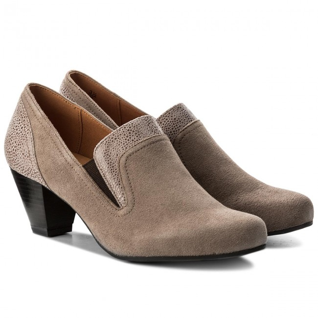 Halbschuhe CAPRICE                                                      9-24404-29 Taupe Suede Co 385 18364c