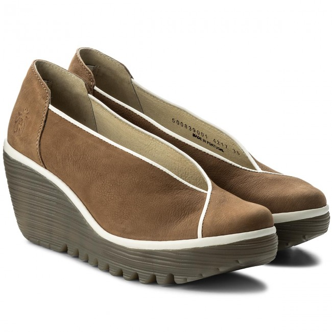 Halbschuhe FLY LONDON                                                      Yucafly P500839001 Sand/Offwhite ca9ae2