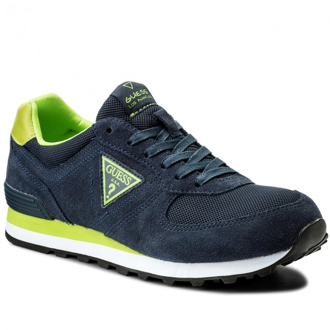 Sneakers GUESS-Charlie FMCHA1 LEA12 NAVY