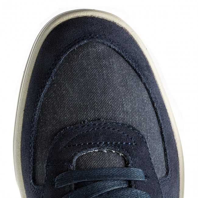 Sneakers GUESS-Derrik FMDER1 LEA12 NAVY NAVY NAVY c2f06a