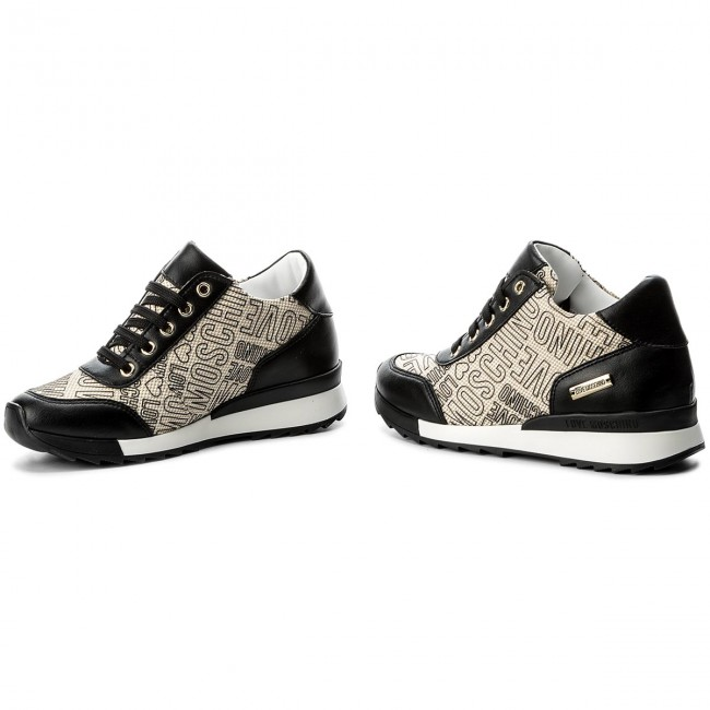 Sneakers LOVE MOSCHINO-JA15074G15IG0000  Re.Nero Werbe Schuhe 969b7d