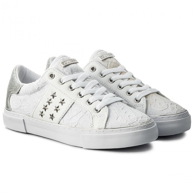Sneakers GUESS                                                      Gamer FLGAM1 PAT12 Weiß 943484