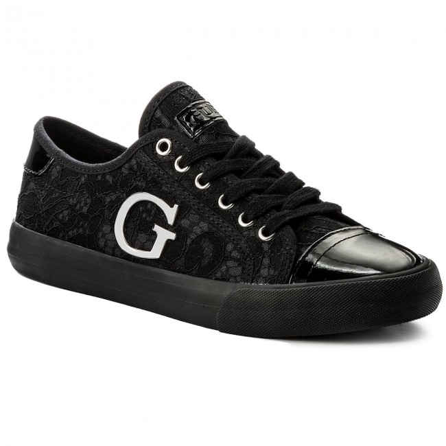 Turnschuhe GUESS                                                    Elly FLLLY1 LAC12 BLACK