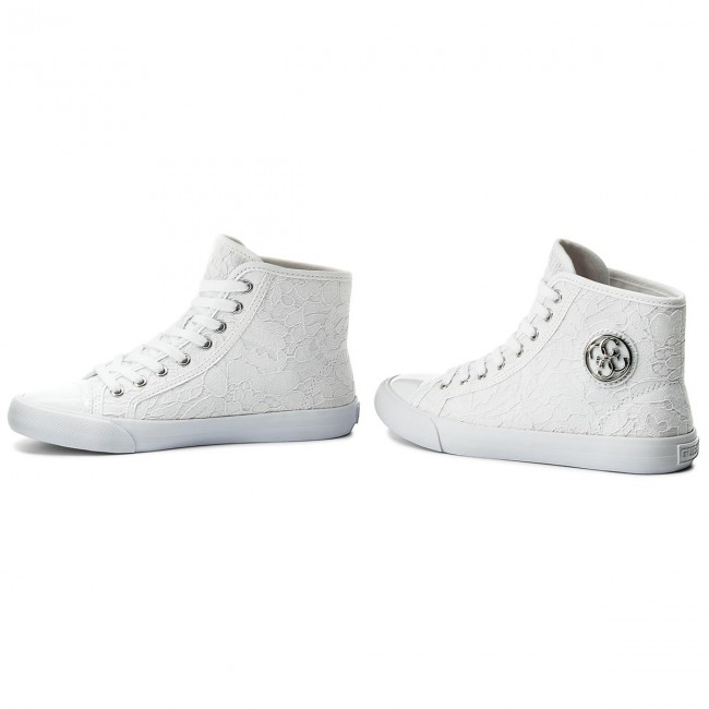 Sneakers GUESS                                                      Evvy FLEVY1 LAC12  Weiß f65d67