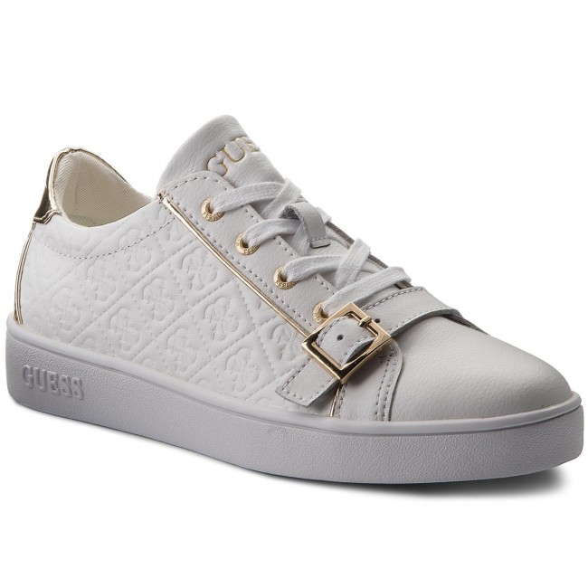 Sneakers GUESS Gio FLGIO1 LEA12 WHITE