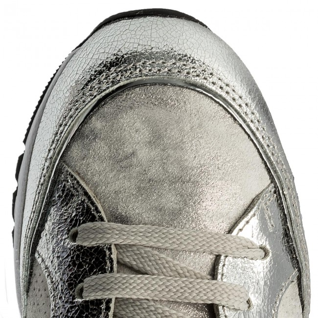 Sneakers VOILE BLANCHE                                                      Margot Star Crack Lame 0012012388.07.9165 Argento/Inox 5fc422