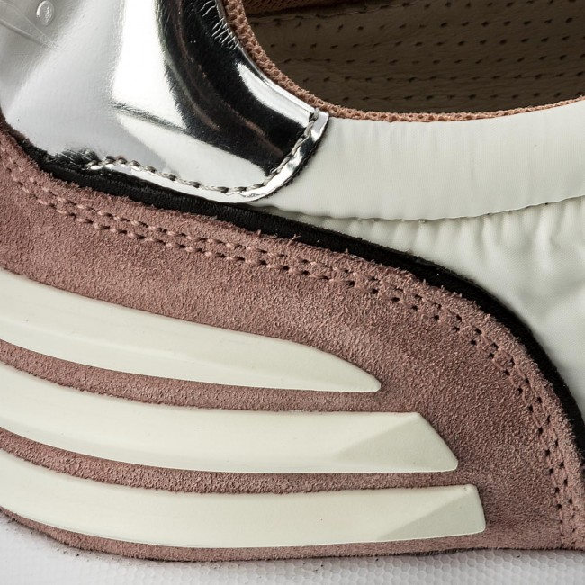 Sneakers VOILE VOILE Sneakers BLANCHE May Power 0012012434.04.9132 Argento/Bianco/Pesca c70b8d