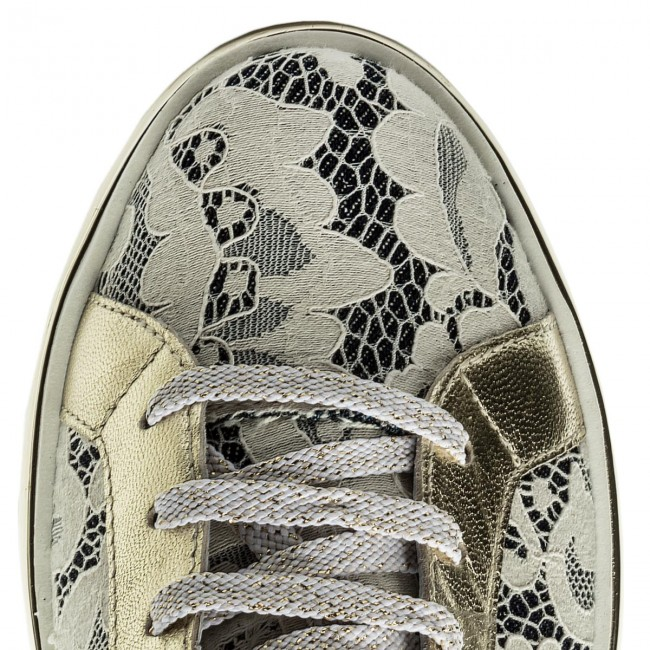 Sneakers NEW ITALIA Schuhe                                                      1829380A/3 Beige/Denim 88c225