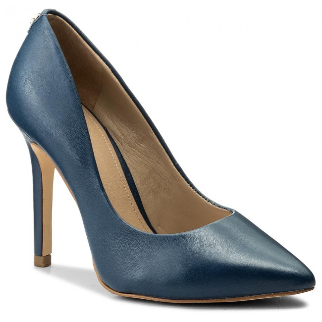 High Heels GUESS                                                    Blix5 FLBLX1 LEA08  BLUE