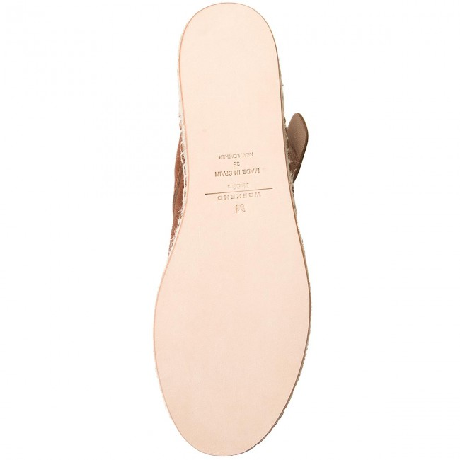 Espadrilles WEEKEND MAXMARA MAXMARA WEEKEND Pagine 55210584600 Cuoio 001 9271dc