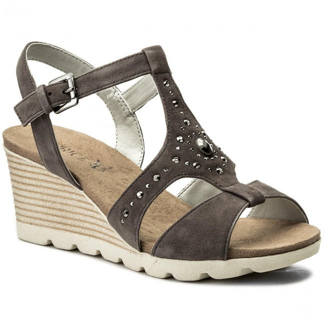 Sandalen CAPRICE                                                    9-28703-20 Anth Suede 256