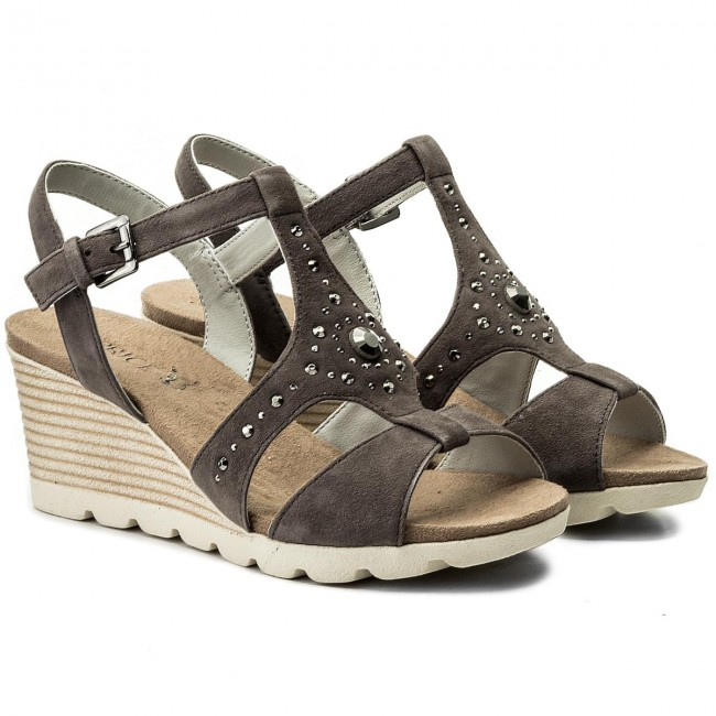 Sandalen CAPRICE                                                      9-28703-20 Anth Suede 256 8a94f0
