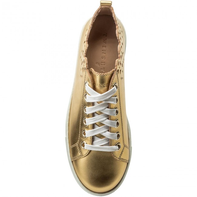 Sneakers TWINSET                                                    Sneaker CS8TF1 Oro Free 00050