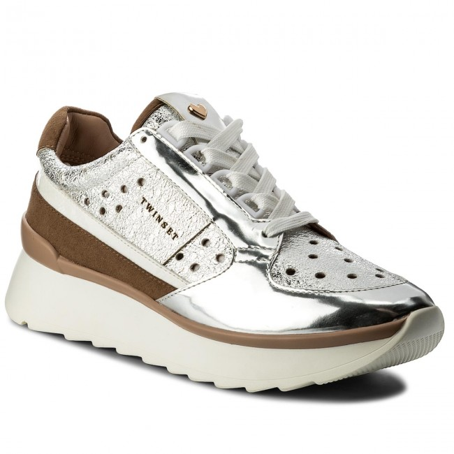 Sneakers TWINSET                                                    Running CS8PKC  Argento 00055