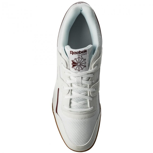 Schuhe Reebok-Workout Plus Mvs CM9928  White/Maroon/Chalk Grn