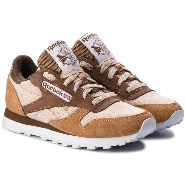 Schuhe Reebok-Cl Leather Mccs CM9610 Cappuccino/Toffee/Ht Chcl