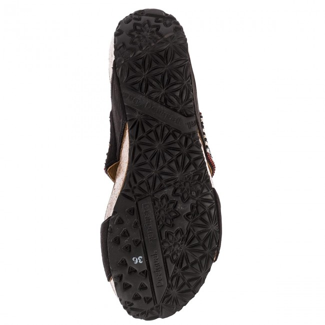 Pantoletten DESIGUAL-Cycle Bn Africa Bn DESIGUAL-Cycle 18SSHF14 2000 Werbe Schuhe 06d913