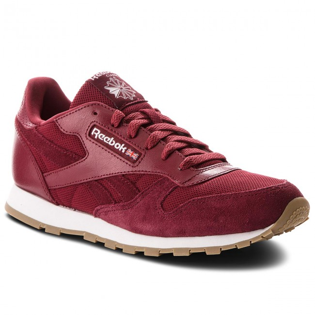Schuhe Reebok                                                    Cl Leather Estl CN1134 Urban Maroon/White