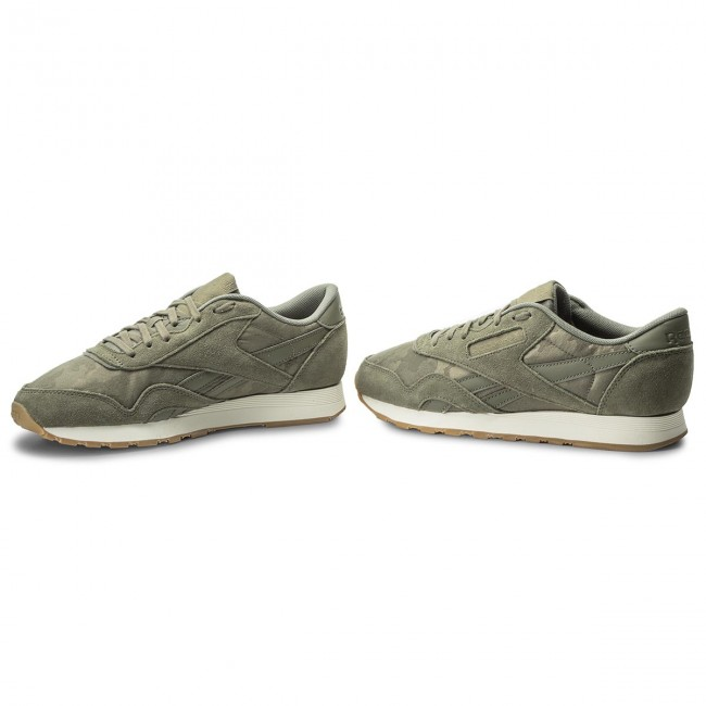 Schuhe Reebok-Cl Nylon Grün/Chalk Sg BS9567  Hunter Grün/Chalk Nylon 990e24