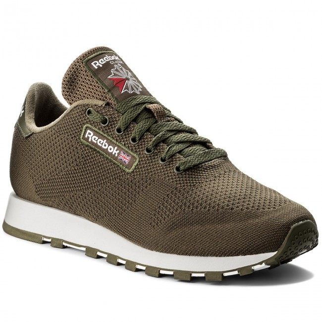 Schuhe Reebok                                                    Cl Leather Ultk CM9878 Army Green/White