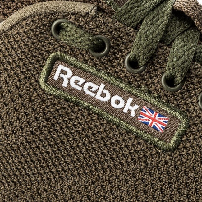 Schuhe  Reebok    Schuhe                                                 Cl Leather Ultk CM9878 Army Green/White 8d3325