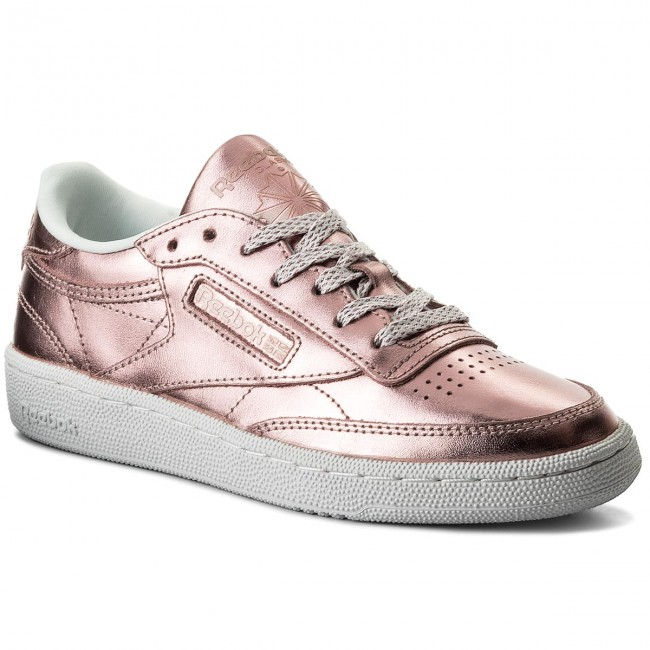 Schuhe Reebok  Club C 85 S Shine CN0512 Copper/White