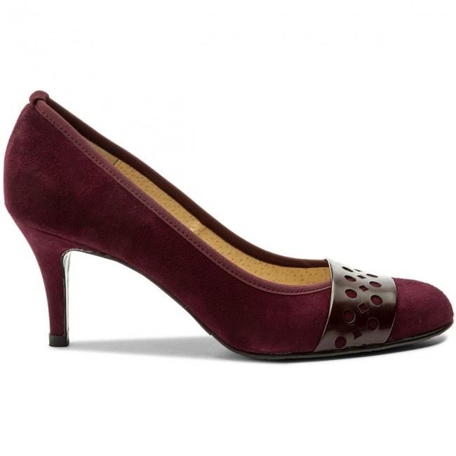 High  Heels BRENDA ZARO   High                                                  F2401 Bordeaux 64f011