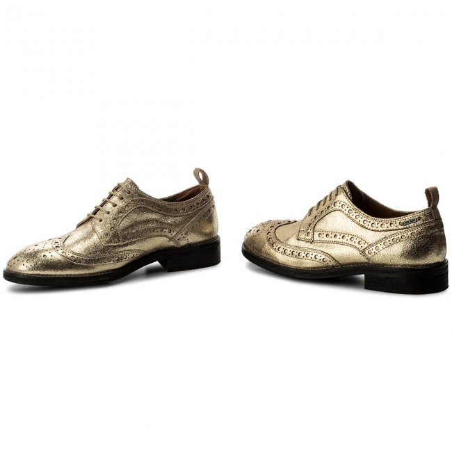 Oxfords PEPE JEANS       JEANS                                               Hackney Met PLS10332 Gold 099 53d43f