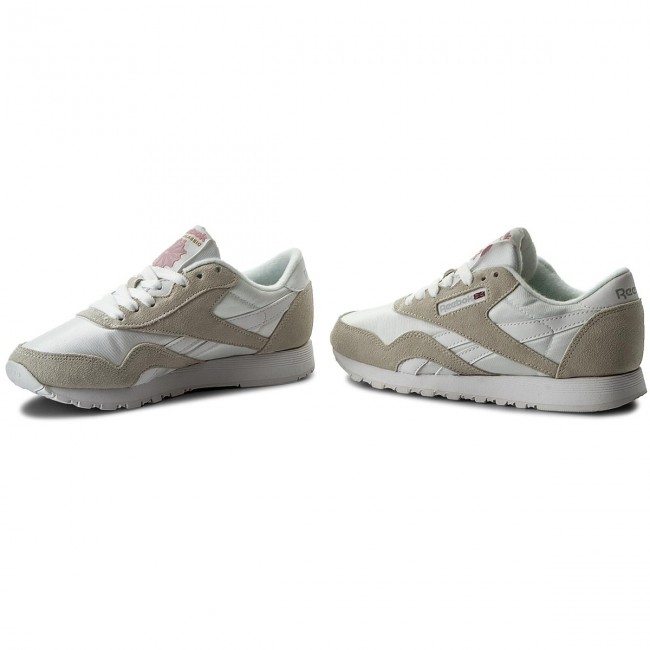 Schuhe Reebok  Cl Nylon Grey 6394 White/Light Grey Nylon 83c492