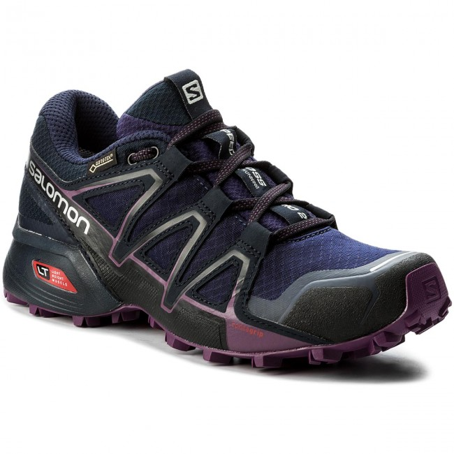 Schuhe SALOMON Speedcross Vario 2 Gtx W GORE-TEX 398475 21 V0 Astral Aura/Navy Blazer/Grape Juice